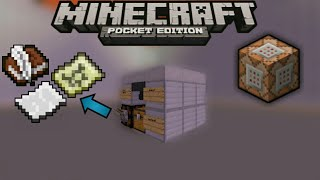 MCPE 1.2.0+[HOW TO MAKE WORKING PRINTER FOR ALL ITEM WITH USE COMMAND BLOCK]