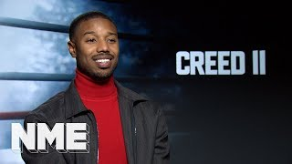 Creed II: Michael B Jordan answers silly questions about punching