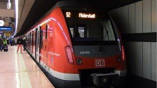 Hauptbahnhof (tief) - S-Bahn Stuttgart mit ET 423 und ET 430
