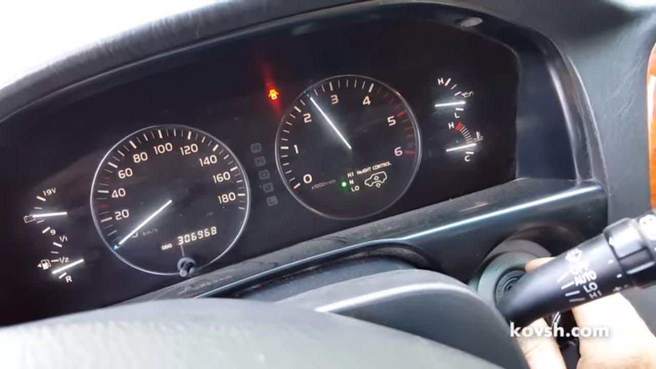 Решение если двигатель не сбрасывает обороты на Toyota Land Cruiser 100 4.2D 1HDFTE