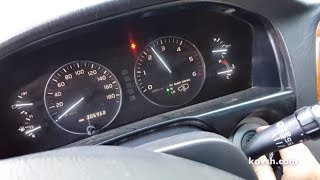 Agar dvigatel Cruiser 100 Er Toyota uchun tezlik reset bo'lmasa D 4.2 1HDFTE — VPR-BOX qaror