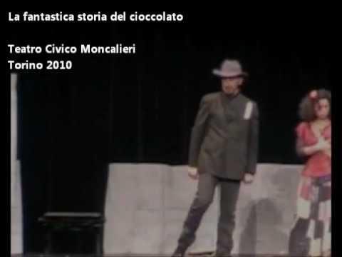 La tastica storia del cioccolato. Torino 2010. GirasoliTeatro