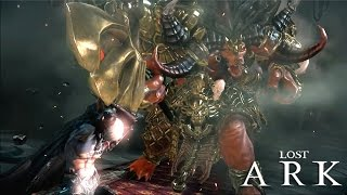 Lost Ark Online - The Frist CBT Battle Master Level 28 Wall Of Honor Main Story Gameplay