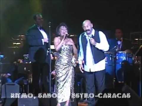 OSCAR D´LEON & CANELITA MEDINA-LÁGRIMAS NEGRAS EN VIVO UCV 2004