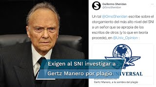 Guillermo Sheridan, columnista de EL UNIVERSAL, publicó hoy un texto sobre el plagio cometido por el fiscal general de la República, quien recientemente ingresó al Sistema Nacional de Investigadores
