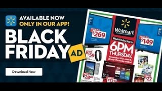 Walmart Black Friday Ad Deals 2015