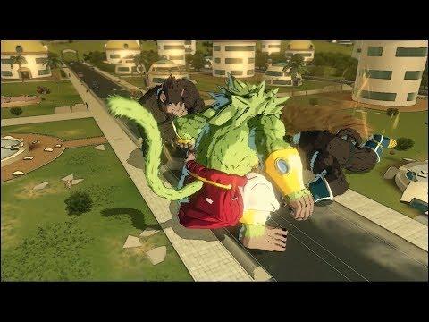 #3 Great Apes Battle ( Dragon Ball Z: GT Crossover ) DBXV2