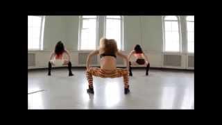 Booty dancing - Elena D. At Way Of Life Studio