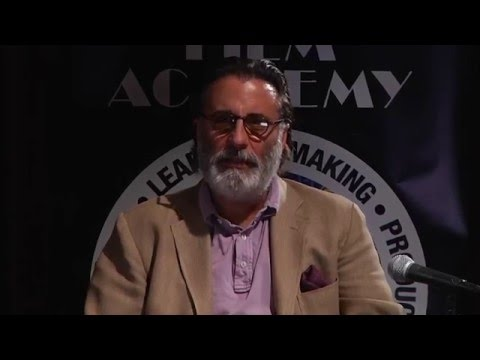 Discussion with Actor Andy Garcia at New York Film Academy