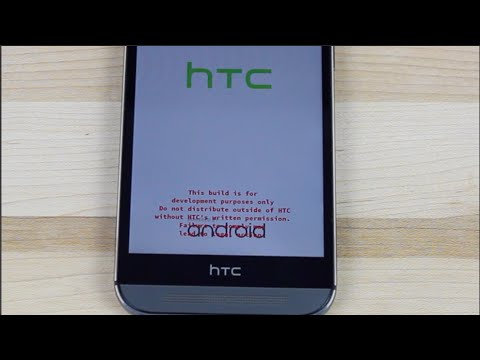 HTC One M8 Remove Red Text Warning On Boot Screen All ...