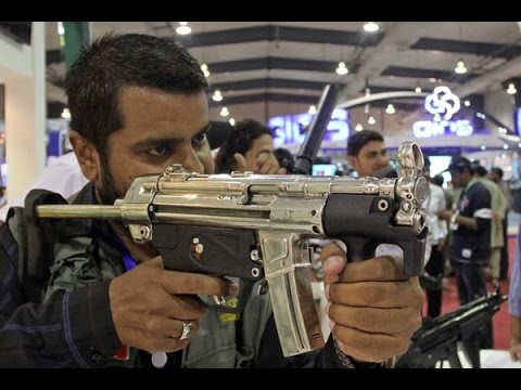 Armies from Around the World Display their Weapons IDEAS 2016 | Express News