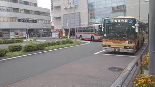 神奈川中央交通東 大和営業所 や1号車元塗装のオカジマラッピング車