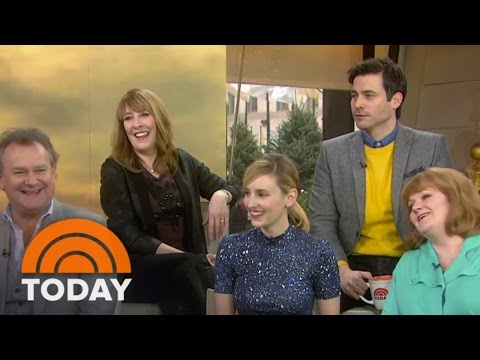 'Downton Abbey' Stars Discuss The New Season  TODAY