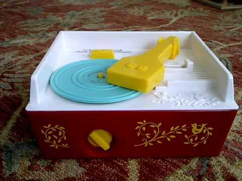 Fisher Price Record Player PLAYING ALL SONGS