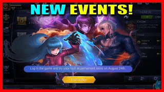 PREORDER KOF BINGO SKIN EVENT AND DIAMOND DRAW EVENT | MOBILE LEGENDS