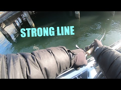 Showing Why I Use HI-SEAS Fluorocarbon Coated Grand Slam Fishing Line