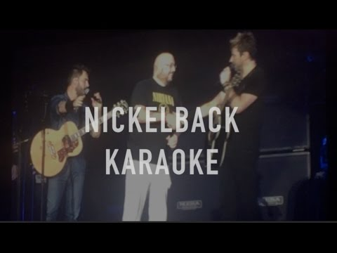 Nickelback Invite Crowd on Stage to Sing Rockstar (Karaoke) | Live Tour 2016 | London 21/10