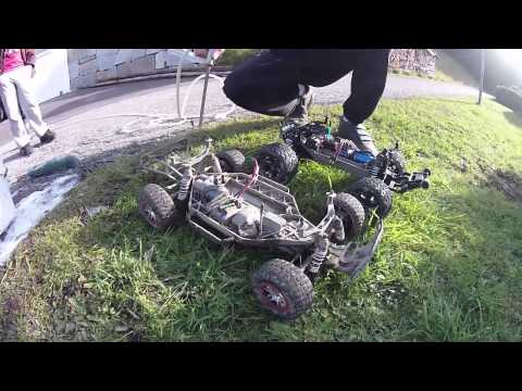 How to wash a RC-Car (Traxxas Stampede and Slash)
