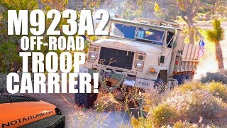 THOR: The M923A2 Military 6x6 Off-Road Troop Carrier