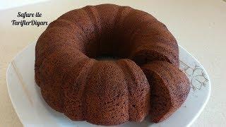 Kakaolu Kek Tarifi -  Pamuk Gibi Kakaolu Kek - Kolay Kek Tarifleri