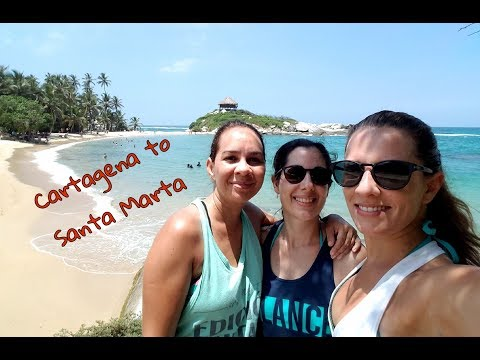 Cartagena to Santa Marta. Exploring Colombia #3