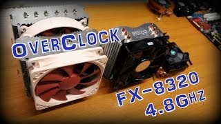 OverClocking AMD FX 8320 @ 4.7 GHz | Noctua NH-D14 | 990FXA-UD3 | Max Temperatures