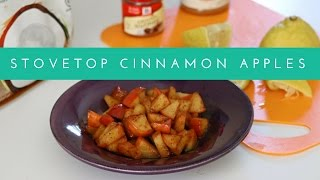 How To Make Easy & Quick Stovetop Cinnamon Apples