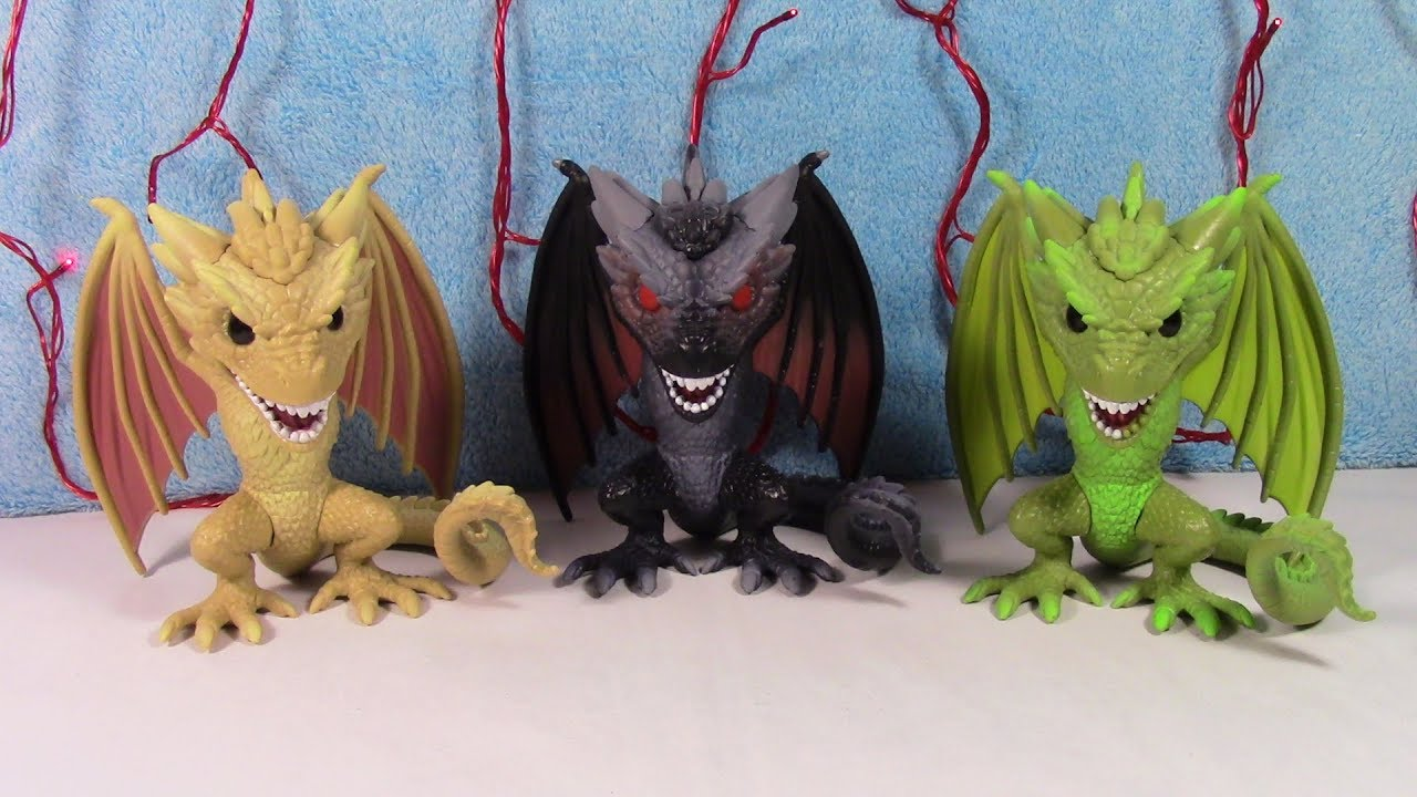 """Viserion 6/"""" Action Figure Funko POP Game of Thrones"""