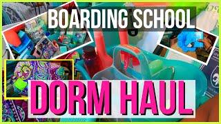 boarding school dorm haul 2015