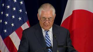 Tillerson: Barcelona incident bears 'hallmarks' of terrorism