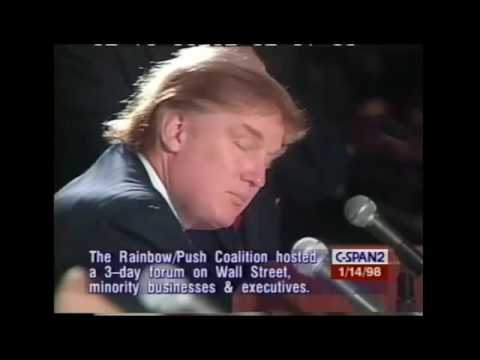 Donald Trump Jesse Jackson: Inclusion & Economic Growth Minority Involvement In Corporate America 98