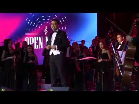Шоу Open Music в отеле Hyatt Regency Tashkent. МСО Узбекистана под управлением  К. Уринбаева