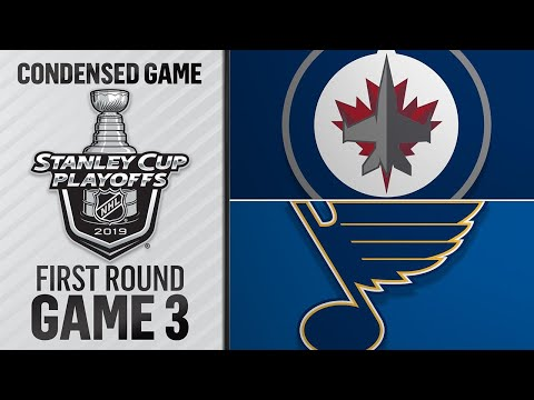04/14/19 First Round, Gm3: Jets @ Blues