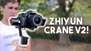 Is a $650 stabilizer worth it? Zhiyun Crane V2 In-Depth Review + Test Footage!