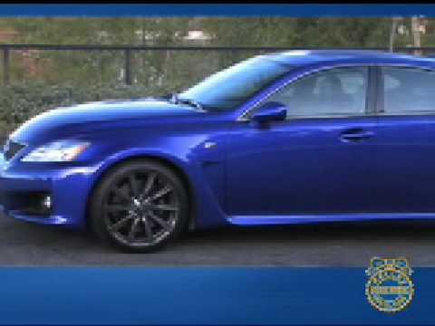 2008 Lexus IS F Review - Kelley Blue Book