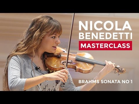 Nicola Benedetti Violin Masterclass at the RCM: Johannes Mar