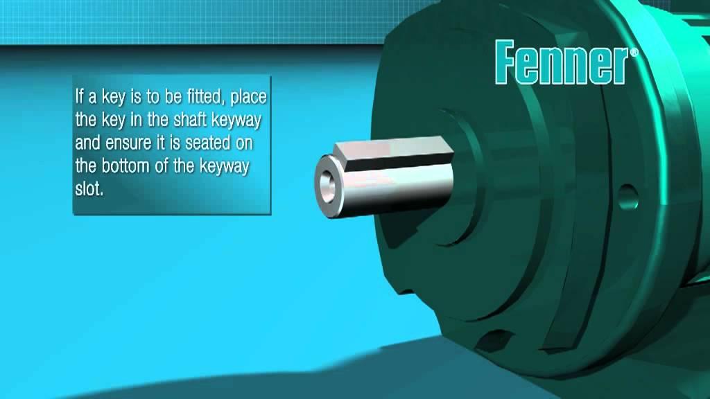 Fenner Taper Lock Installation Video Youtube