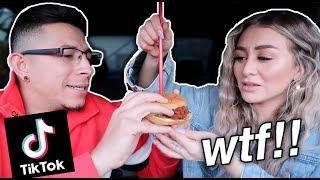 We tested Viral TikTok FOOD HACKS *shocking* l YesHipolito