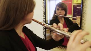 Circular breathing on flute
