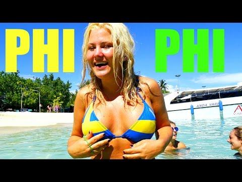 PHI PHI ISLAND, KOH PHI PHI, THAI BEACH, GIRLS ON THE BEACH, HOLIDAY IN THAILAND,