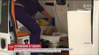 Дівчинка яка отруїлась у таборіСлавутичзалишається у комі
