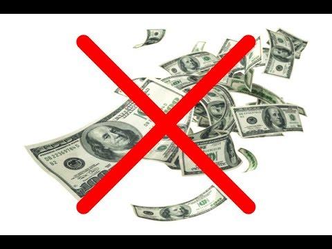 Отмена наличных денег и падение финансовых   рынков