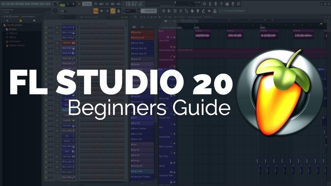 Fl Studio 20 Introduction Tutorial Youtube
