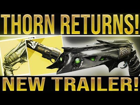 Destiny 2. THORN IS RETURNING! (New Last Word Quest Teaser) thumbnail
