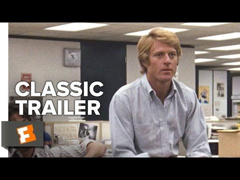 All The President's Men (1976) Official Trailer - Robert Redford, Dustin Hoffman Thriller HD