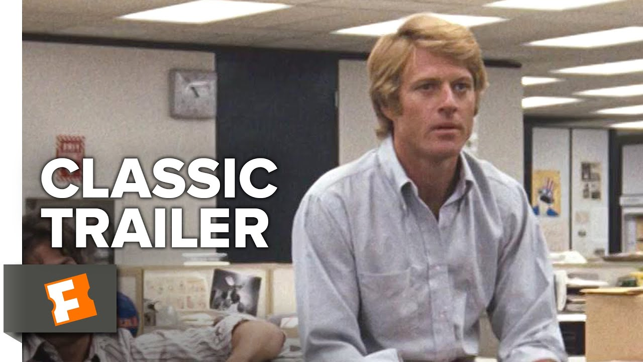 All The President's Men (1976) Official Trailer - Robert Redford, Dustin Hoffman Thriller HD