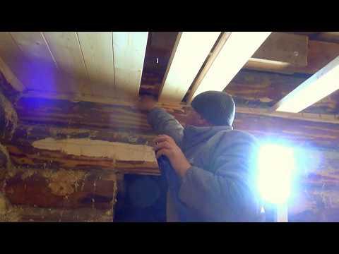 Как сделать потолок в бане своими руками пошаговое руководство