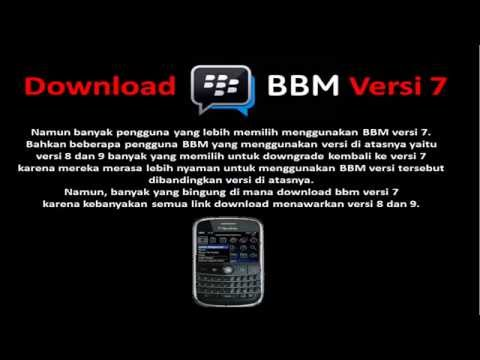download bbm versi lama blackberry 9780