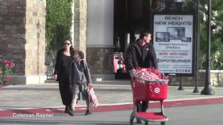 """Angelina Jolie takes daughter at music store """"Guitar Center"""" in Los Angeles"""