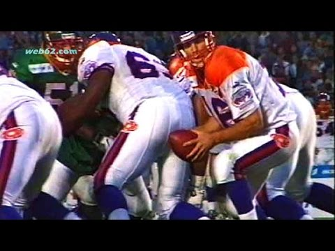 QB Jake Delhomme at Frankfurt Galaxy 1999 @ web62.com Internet TV